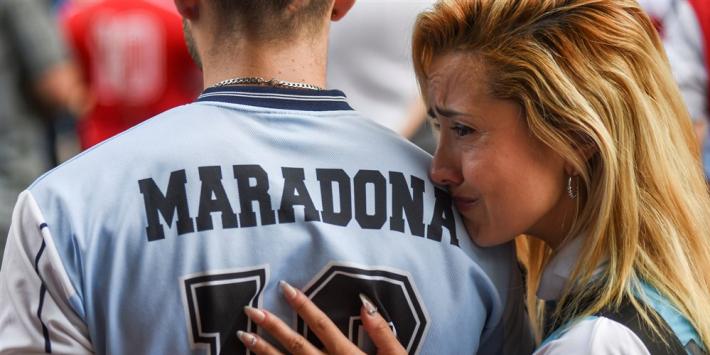 Villas-Boas: nummer 10 bevriezen voor Maradona