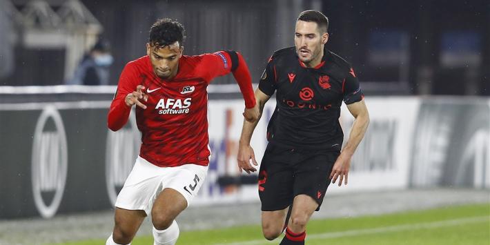 AZ laat Real Sociedad ontsnappen met remise: 0-0