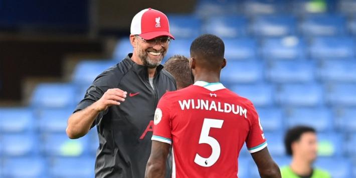 Klopp hoopt vurig dat Wijnaldum bij Liverpool blijft