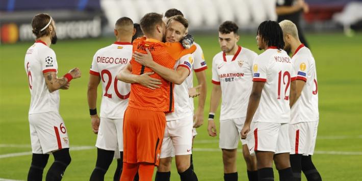 Sevilla boekt na CL-succes ook nipte zege in competitie