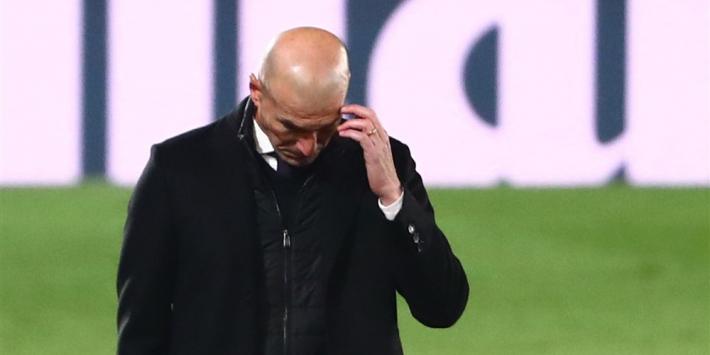 """Nieuwe tik voor Zidane: """"Er is nog een lange weg te gaan"""""""