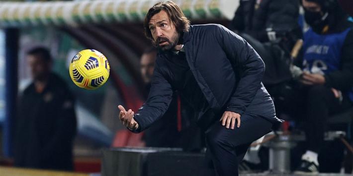 """Pirlo keihard voor Juventus: """"Het had niet slechter gekund"""""""