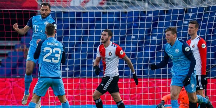 Feyenoord roept puntenverlies over zichzelf af tegen FC Utrecht
