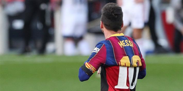 Messi krijgt boete van 600 euro voor eerbetoon aan Maradona