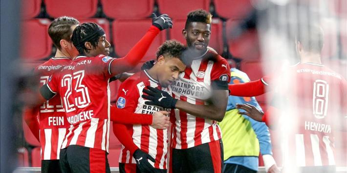 Veredeld B-elftal PSV komt met de schrik vrij tegen Sparta