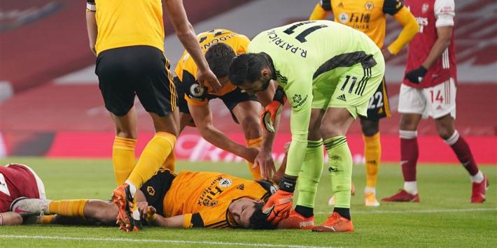 Herstel Jiménez verloopt goed, meldt clubarts Wolves