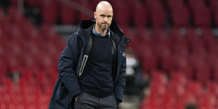 Ten Hag niet bezig met Liverpool-blessures en wil 'moedig' Ajax