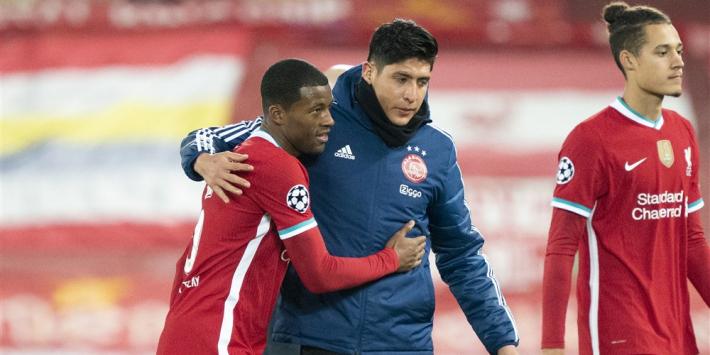"""Wijnaldum: """"Ajax heeft het over twee duels goed gedaan"""""""