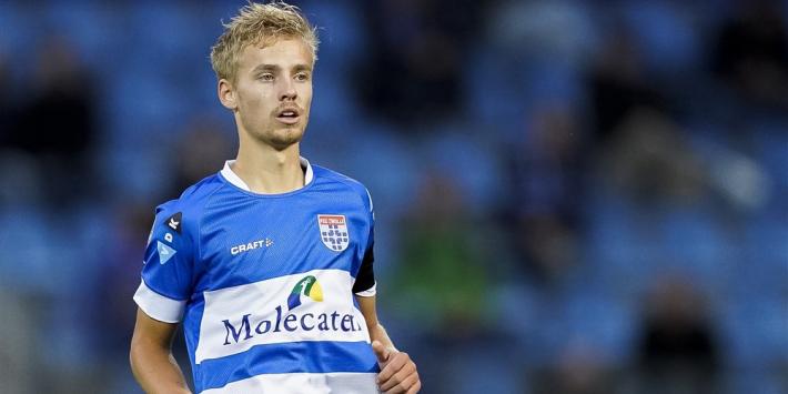 PEC Zwolle houdt ook talentvolle Huiberts langer binnenboord