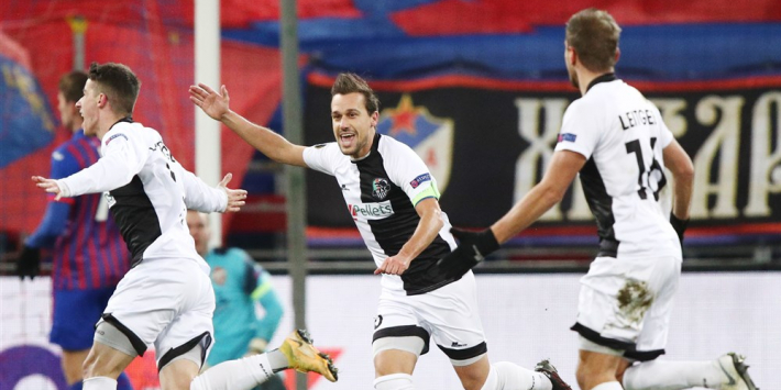 Zege Wolfsberger in Rusland komt Feyenoord goed uit