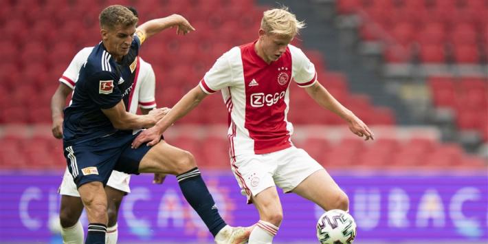 Ajax legt doorgebroken De Waal (18) vast tot en met 2023