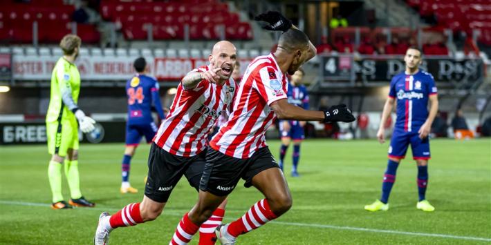 Sparta drukt FC Emmen dieper weg door wereldgoal van Harraoui