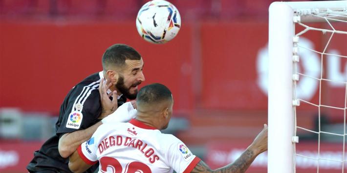 Blunder Sevilla-keeper bezorgt Real Madrid overwinning