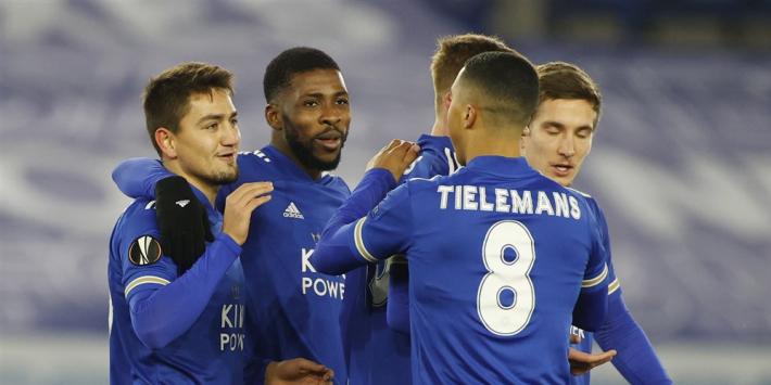 Leicester en Hoffenheim overtuigend groepswinnaar