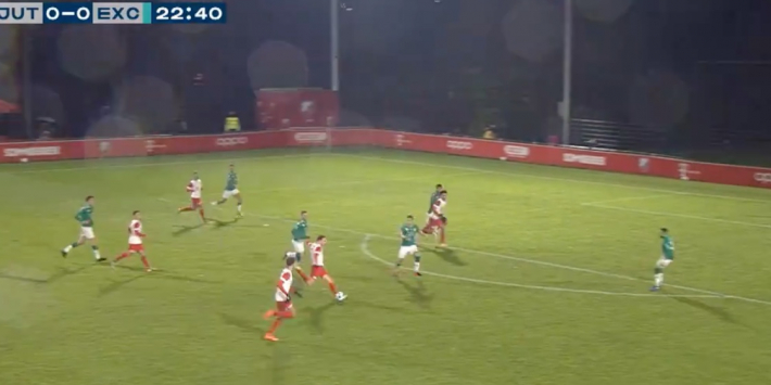 Video: Jong FC Utrecht na wondergoal op voorsprong