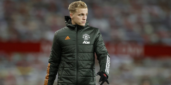 'Manchester United wil wegkwijnende Van de Beek niet verhuren'