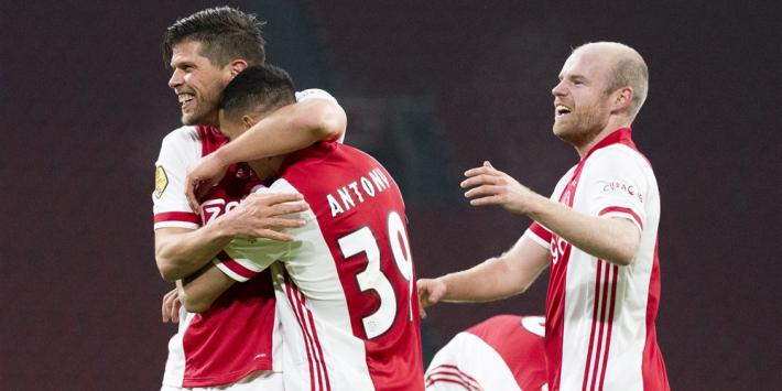 Antony beste speler van de maand december, Ajax hofleverancier