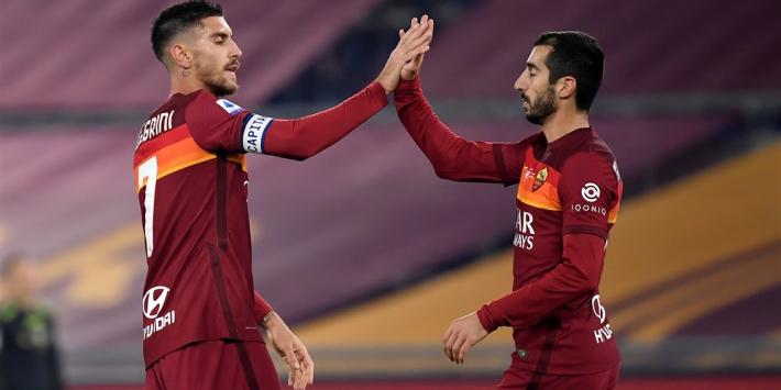 AS Roma met invaller Karsdorp naar zege, Lang valt uit bij Brugge