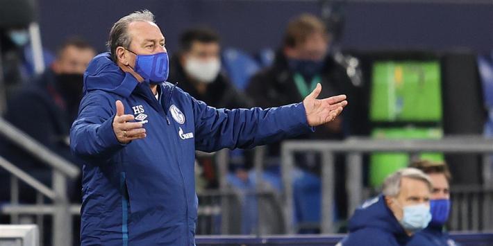Stevens nog één duel op de bank bij Schalke 04