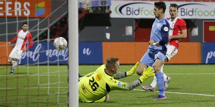 Telgenkamp opnieuw gepasseerd in het doel van FC Emmen