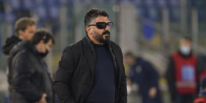 """Ontslag bij Napoli dreigt voor Gattuso: """"Ik ben verantwoordelijk"""""""