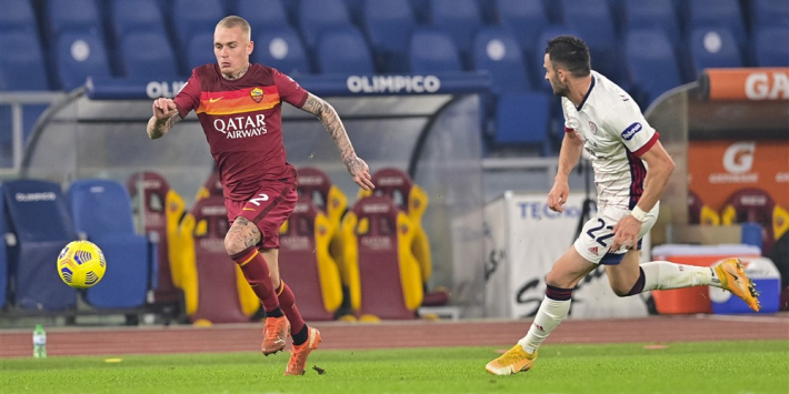 'Beloning voor Karsdorp: Roma wil contract verlengen'