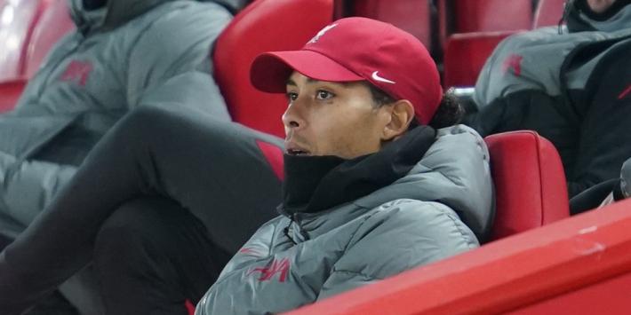 """Van Dijk traint met bal bij Liverpool: """"Hij ligt op koers"""""""