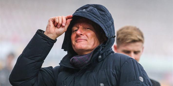 """Koukleumende Wormuth: """"Ik heb denk ik vijf kilometer gelopen"""""""