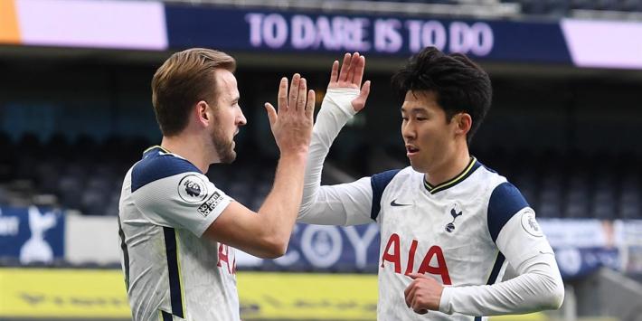 Spurs winnen dankzij Kane en Son van Leeds