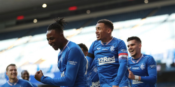 Rangers boekt nipte zege op Celtic in Old Firm