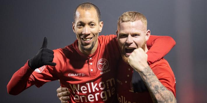 """Almere City nog altijd op titelkoers: """"We zijn op de goede weg"""""""