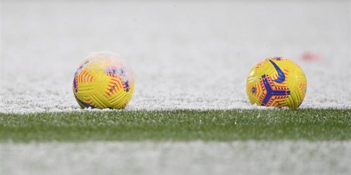 Breaking: alle zondagse wedstrijden afgelast wegens noodweer - FCUpdate mobiel