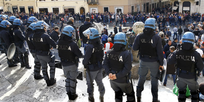 Feyenoord-fans krijgen tot vier jaar celstraf voor rellen in Rome