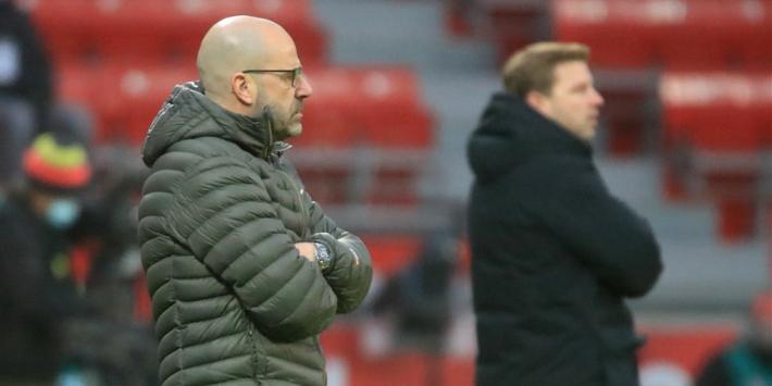 Weer puntverlies voor Bosz; Becker en Weghorst scoren