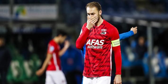 AZ zonder zieke Koopmeiners, Svensson keert terug