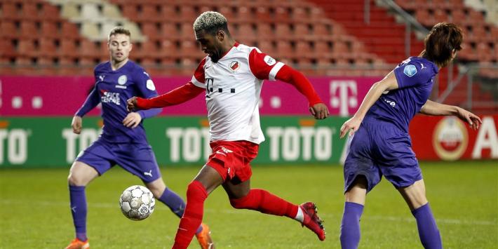 Kerk schiet FC Utrecht in absolute slotfase naast FC Groningen