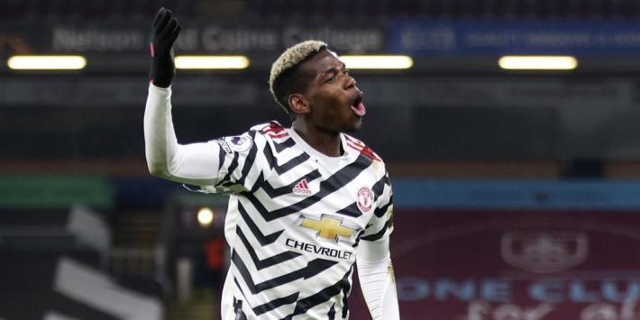 Pogba schiet Man United naar koppositie in Premier League