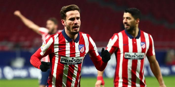 Atlético Madrid steviger aan kop na zege tegen De Jong en co