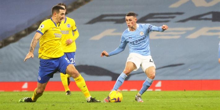 Manchester City nestelt zich in de top met kleine zege