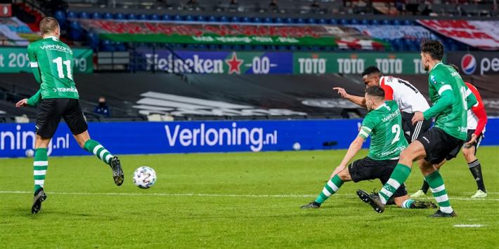 Feyenoord in aanloop naar Klassieker zeer moeizaam langs PEC