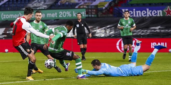 """Berghuis is reëel: """"Kunnen ons niet blindstaren op drie punten"""""""
