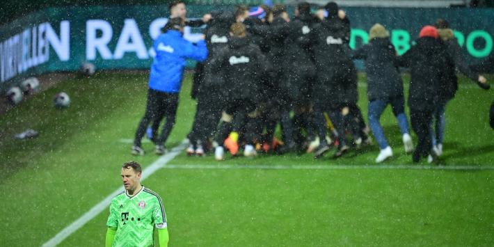 Blamage Bayern München: bekeruitschakeling bij Holstein Kiel