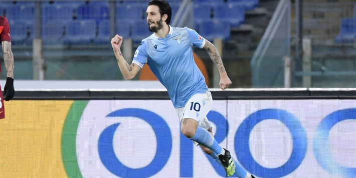 Bliksemstart bezorgt Lazio overwinning op aartsrivaal AS Roma