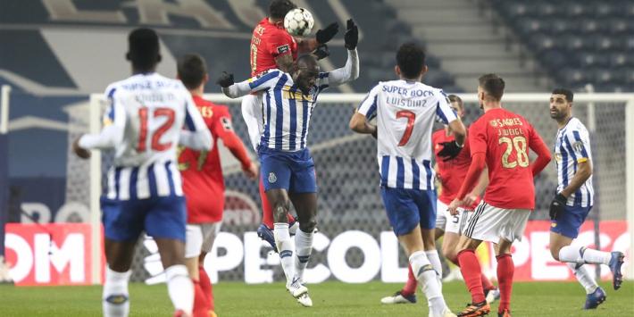 Harde Clássico tussen FC Porto en Benfica kent geen winnaar
