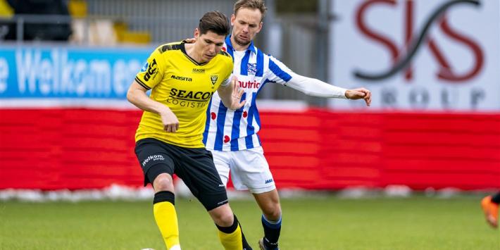 sc Heerenveen evenaart negatief record met gelijkspel in Venlo