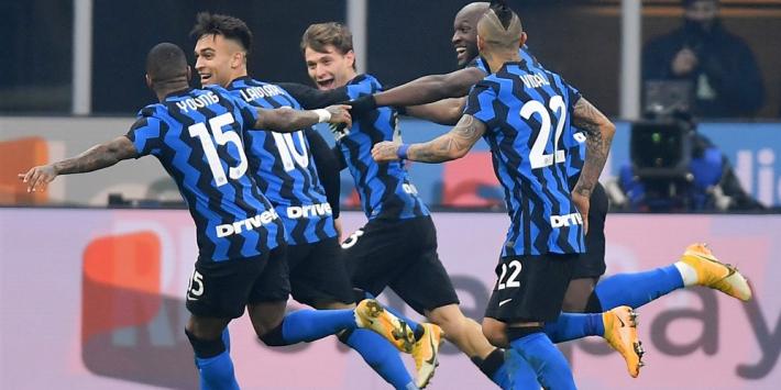 Inter speelt armoedig Juve weg en pakt de koppositie