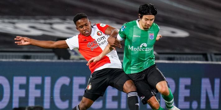 Feyenoord beloont Sinisterra (21) opnieuw met nieuw contract