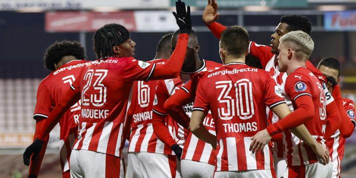 Spoorboekje: PSV op bezoek in Emmen, Arsenal aast op revanche