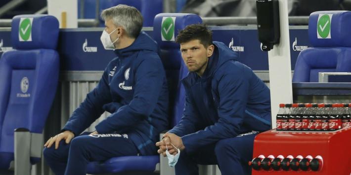 Schalke neemt na degradatie afstand van misdragende fans