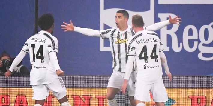 Recordbrekende Ronaldo schiet Juve naar Super Cup-winst